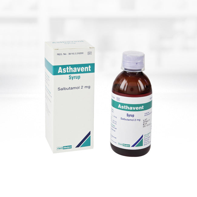 Asthavent Syrup 100ml