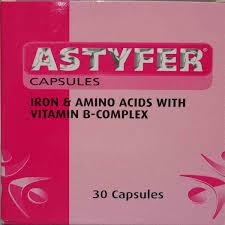 Astyfer Caps 30's