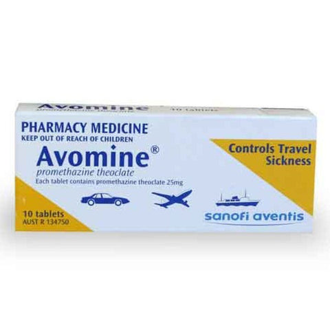 Avomine Tablets 10s
