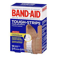 Bandaid 15's Tough Strips