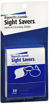 Bausch & Lomb Sightsavers Pre-moistened Tissues 30