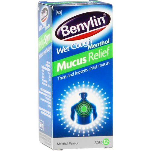 Benylin Wet Cough Mucus 50ml