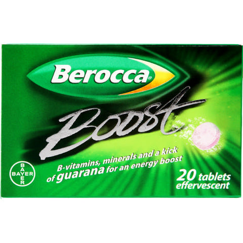 Berroca Boost 20 Effervescent Tablets