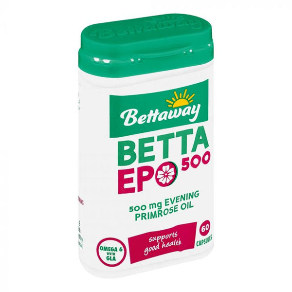 Bettaway Evening Primrose Oil 60 Caps