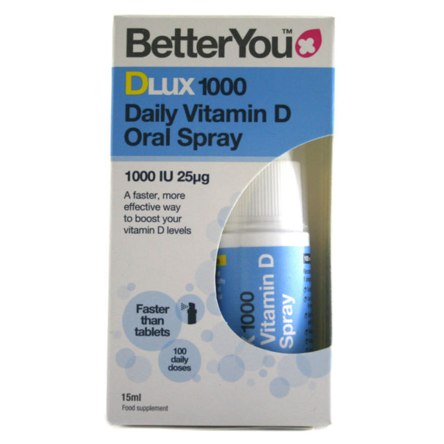 Better You Dlux1000 Spray 15ml