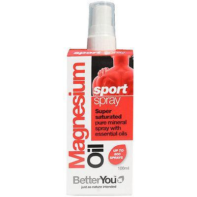 Better You Magnesium Oil 100ml Sport