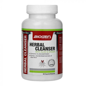 Biogen Herbal Cleanser 60 Caps