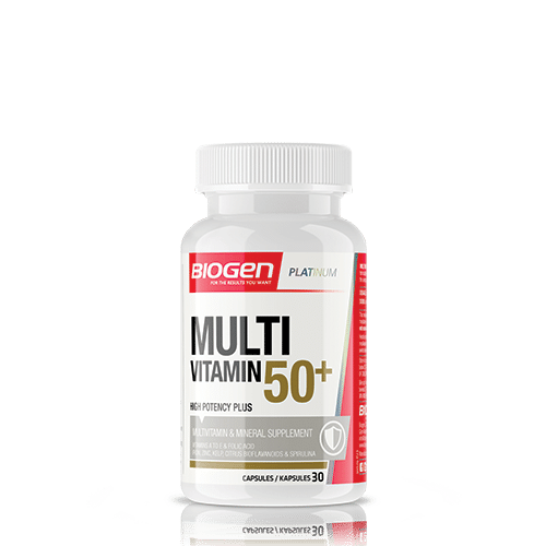 Biogen Multivitamin 50+ 30 Caps