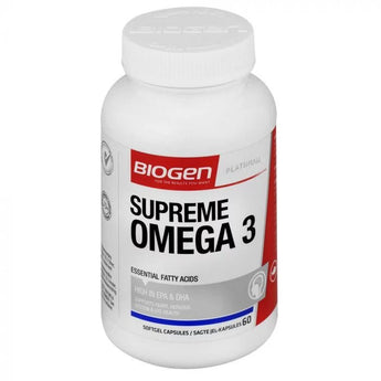Biogen Supreme Omega 3 Softgel 60's