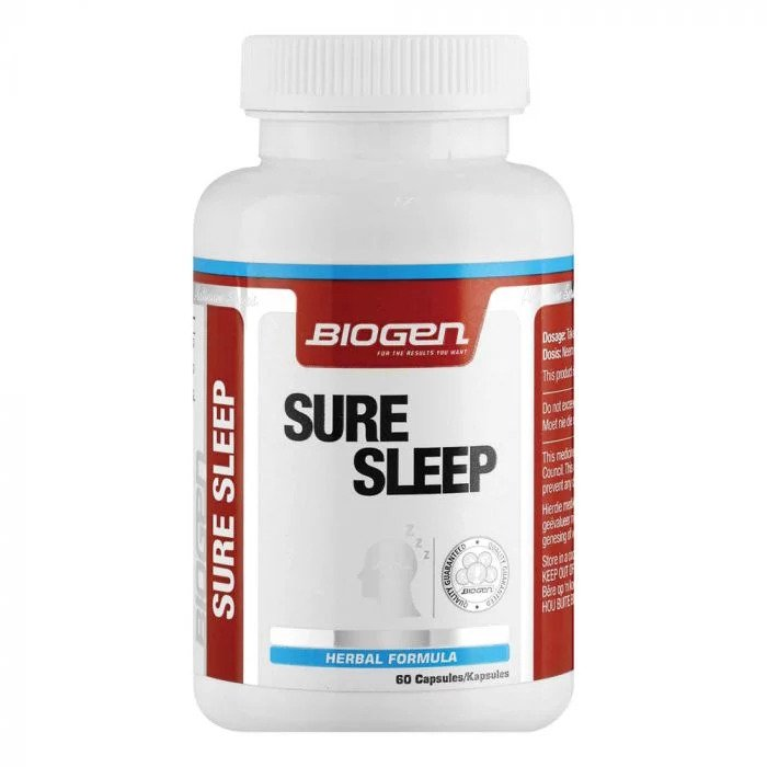 Biogen Sure Sleep 60 Caps