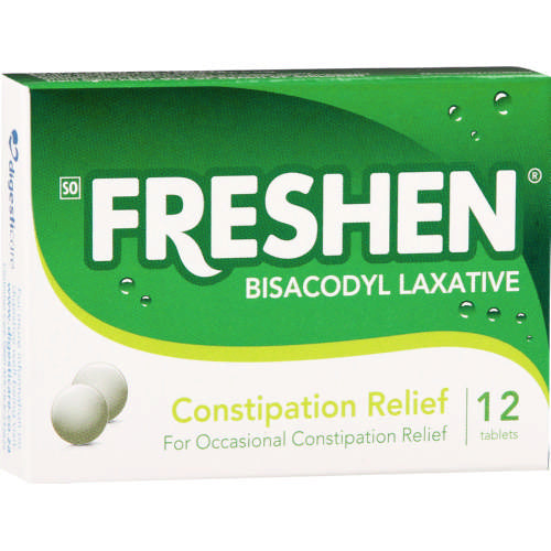 Bisacodyl Laxative 12 Tablets