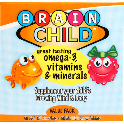 Brain Child Combo Pack 120's