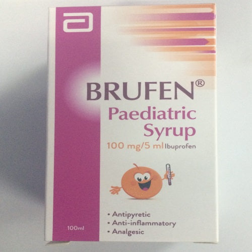 Brufen 100mg Paediatric Suspension 100ml