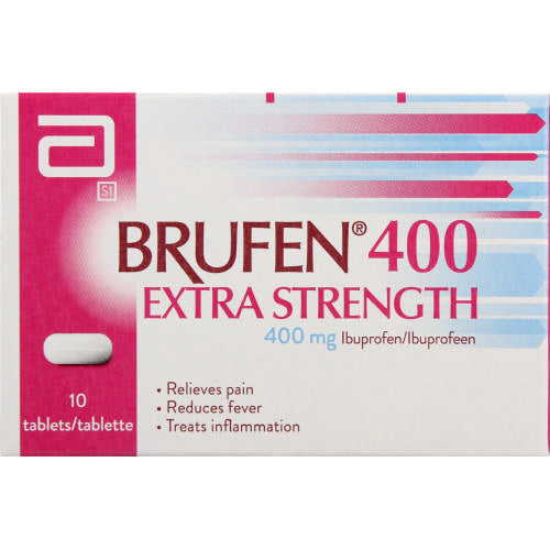 Brufen 400 Extra Strength Tablets 10s