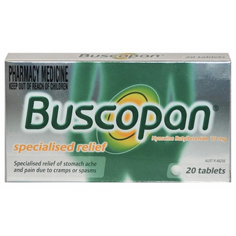 Buscopan 10mg Tablets 20s