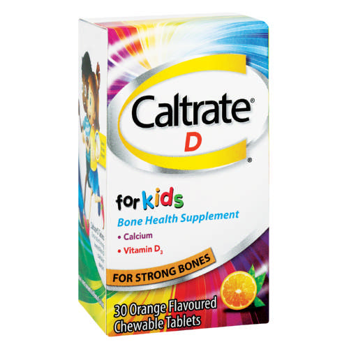 Caltrate D Chew Kids 30 Tabs