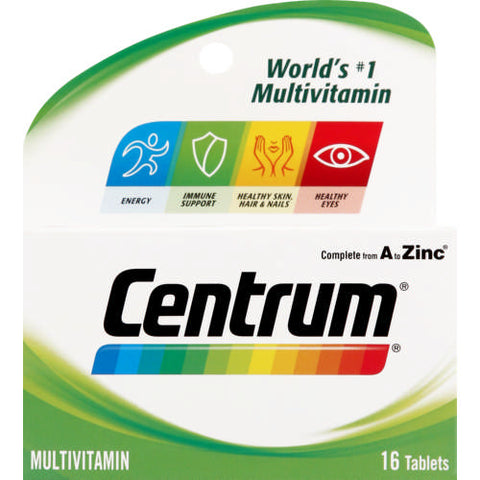 Centrum Multivitamin Adult 16 Tabs