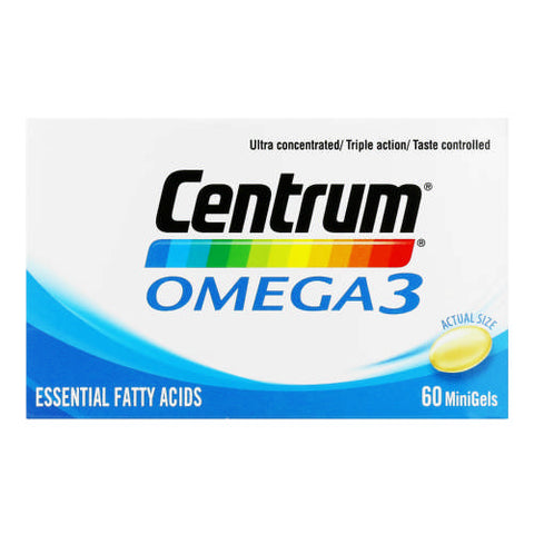 Centrum My Nutrients Omega 3 60 Caps