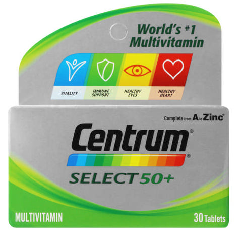 Centrum Select 50+ 30 Tablets