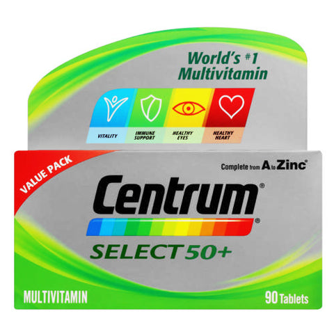 Centrum Select 50+ 60 Tablets
