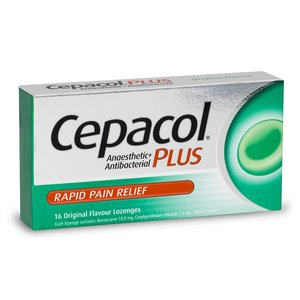 Cepacol Plus Original Lozenges 16s