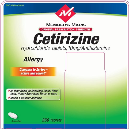 Adco-Cetirizine 10 Mg Tablets 30s