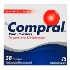 Compral Headache Powders 38`s