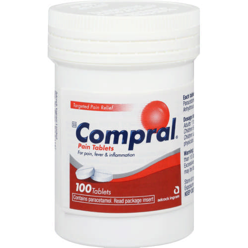 Compral Headache Tablets 100's