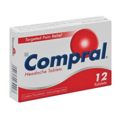 Compral Headache Tablets 12's