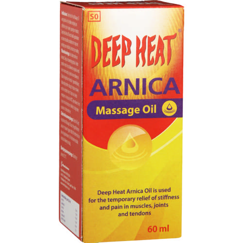 Deep Heat Arnica Oil 60ml