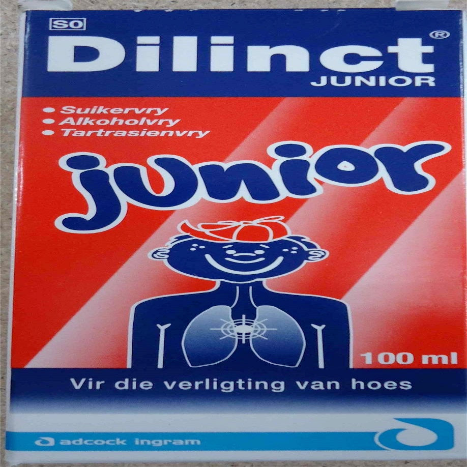 Dilinct Wet Cough Syrup 100ml
