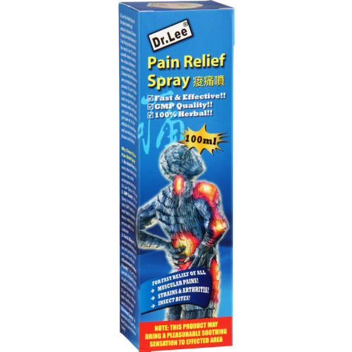 Dr Lee Pain Relief Spray 100ml