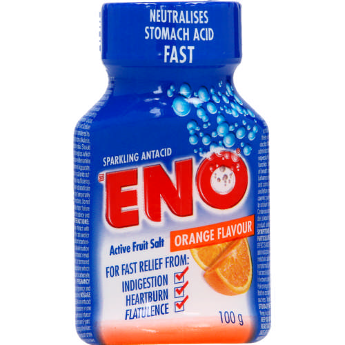 Eno Fruit Salt Orange Travel Pack 10's
