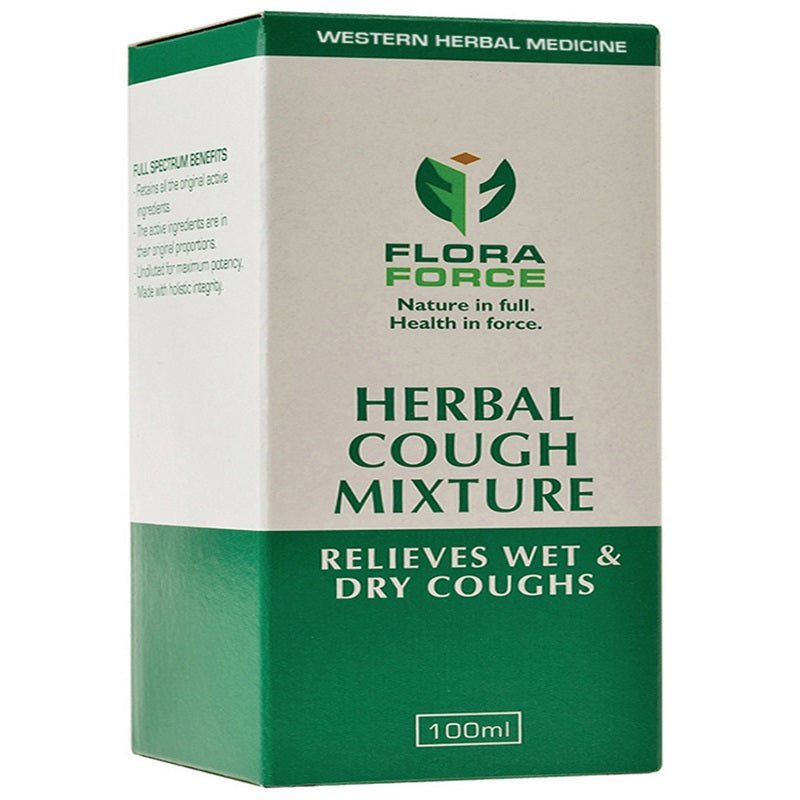 Flora Force Herbal Cough Mixture 100ml