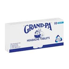 Grand-Pa Headache Tablets 10s