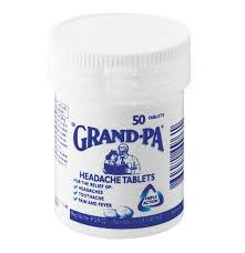 Grand-Pa Headache Tablets 50s