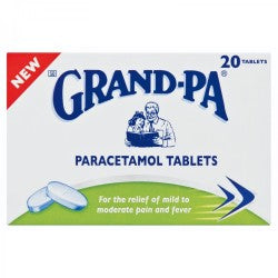 Grand-pa Headache Tablets 20s
