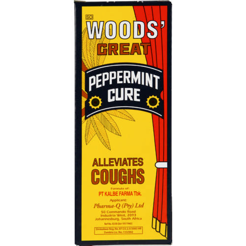 Woods Great Peppermint Cure 100ml