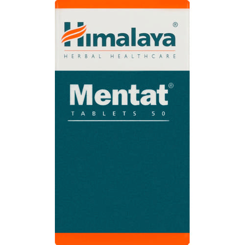 Himalaya Herbal Healthcare Mentat 50 Tablets