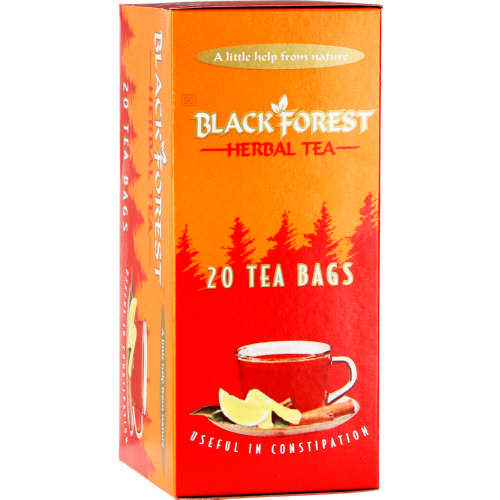 Black Forest Herbal Laxative Tea 20 Tea Bags