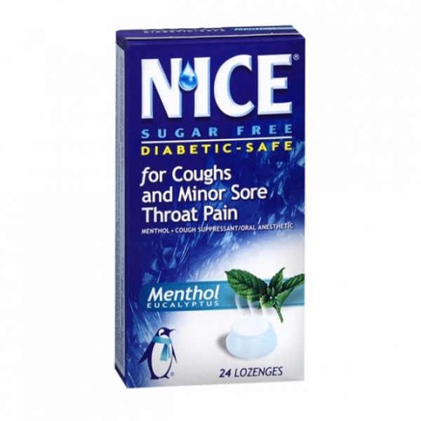 Herbal Throat Lozenges 24's Menthol
