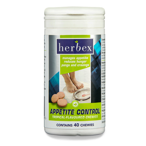 Herbex Appetite Control Chewies Tropical 40's