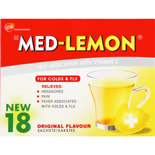Hot Medication Original 18 Sachets