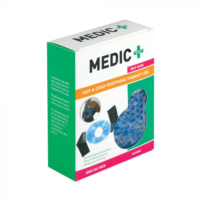 Medic Hot Or Cold Gel Pack For Knee Re-usable