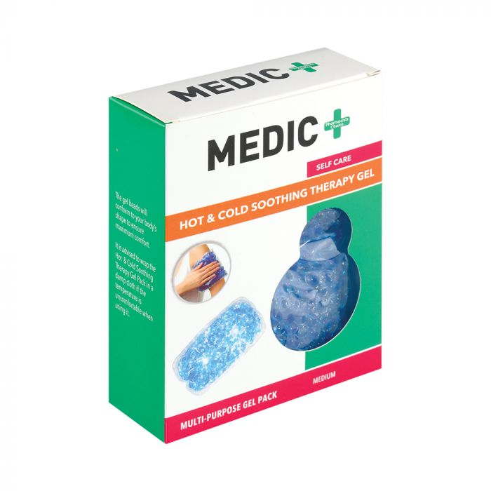 Medic Hot Or Cold Soothing Gel Pack Multi Purpose Medium
