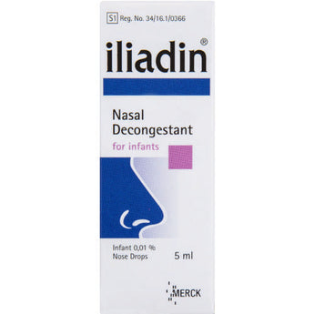 Iliadin 0.1% Infant Drops 5ml