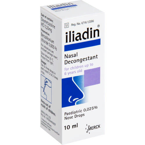 Iliadin Nose Drops 0.05% 10ml