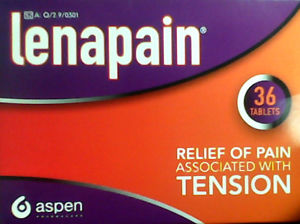 Lenapain Headache Tablets 36s