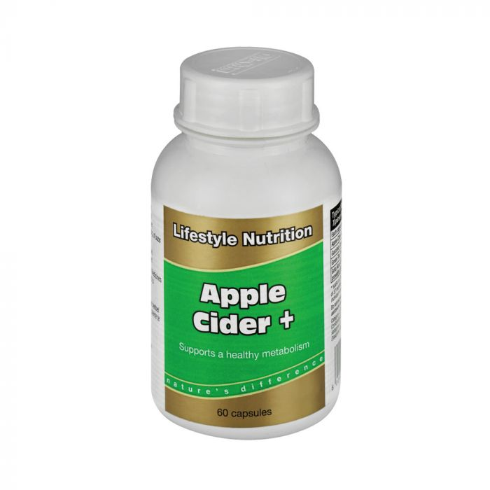 Lifestyle Nutrition Apple Cider + 60 Caps