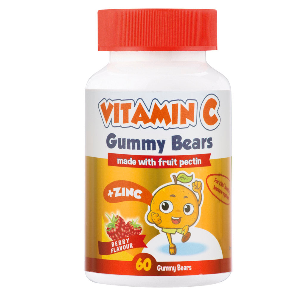 Lifestyle Nutrition Gummy Bears Vitamin C 60's